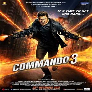 Commando 3 video songs